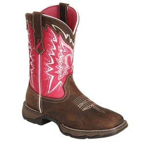 Durango Pink Ribbon Cowgirl Boots